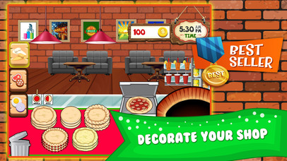 Screenshots of Pizza Cooking Dash Fever Maker - restaurant story shop & bakery diner town food games! for iPhone