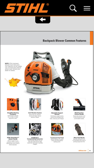 STIHL Outdoor Power Tools Accessories