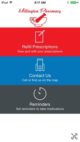 【免費醫療App】Millington Pharmacy-APP點子