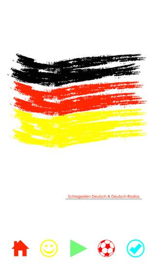 Schlagzeilen Deutsch Deutsch-Radios