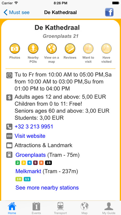Antwerp Travel Guide Offline iPhone Screenshot 4