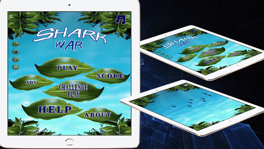Shark War Action and Adventure Game