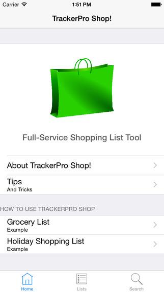 TrackerPro Shop