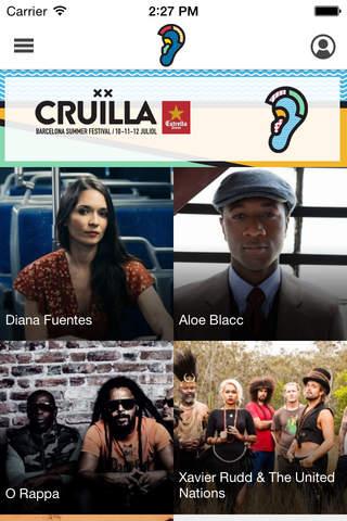 Cruïlla Barcelona Festival 2015 screenshot 2