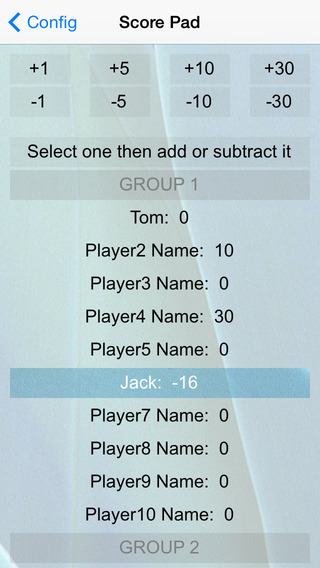 Amazing Score Pad iPhone Screenshot 3