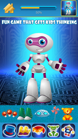 My Awesome World of Little Robots Draw Copy Game Pro - Dress Up The Virtual Power Robot Hero For Boy
