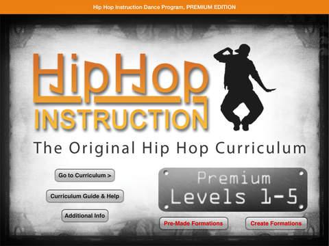 Hip Hop Instruction Premium Edition Curriculum + Extras! iPad Screenshot 1