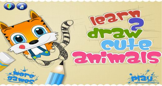 Learn 2 Draw Cute Animals