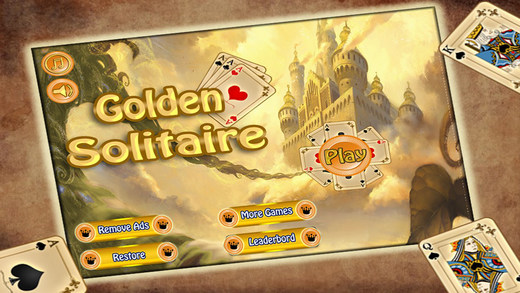 Golden Solitaire Cards Game