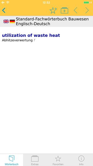 Bauwesen EnglischDeutsch Fachwörterbuch Standard