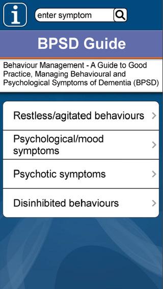 BPSD Guide: Managing Behavioural and Psychological Symptoms of Dementia