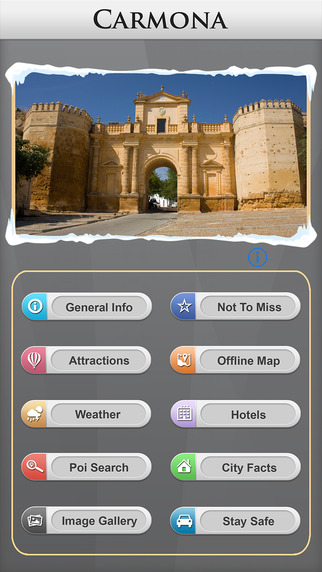 Carmona Offline Map Travel Guide
