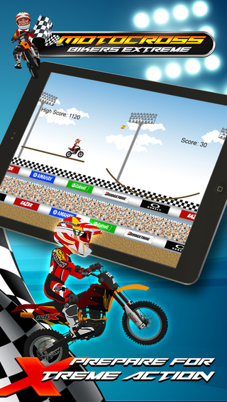 Bikers Xtreme iPhone Screenshot