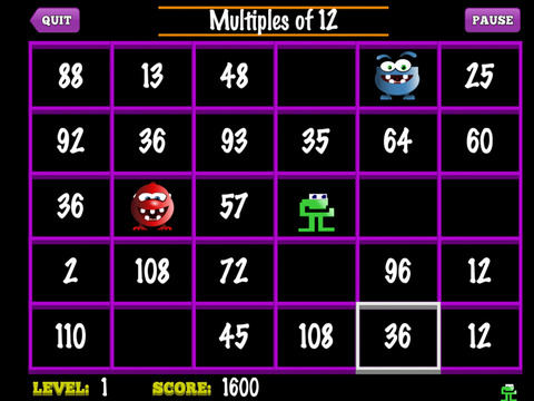 Number Munchers iPad Screenshot 4