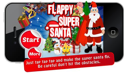 Flappy Super Santa