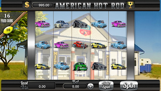 AAA American Hot Rod Slots