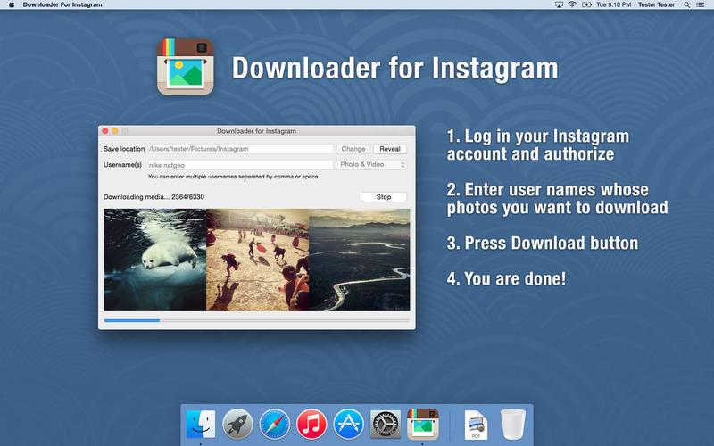 Downloader For Instagram Screenshot - 1