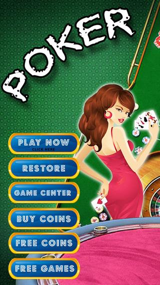 Sexy Poker - Free Video Poker Simulation Game