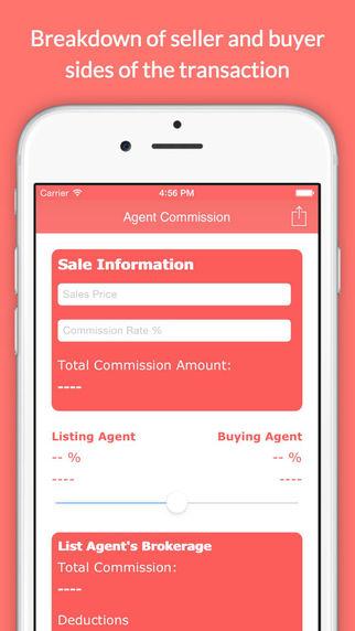 Real Estate Agent Commission Calculator