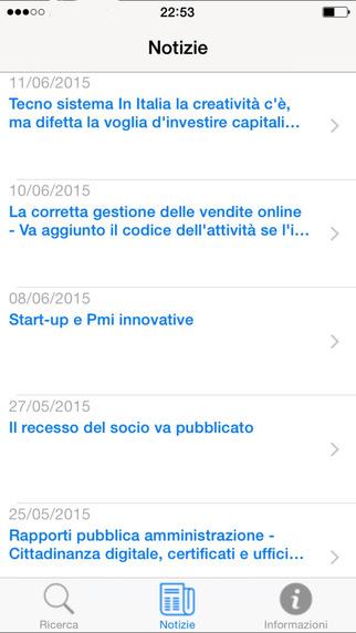 registroimprese.it iPhone Screenshot 4