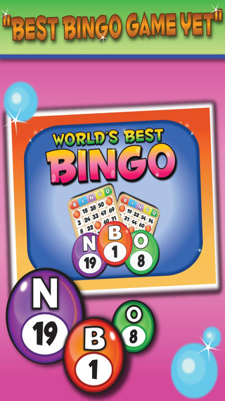 Worlds Best Bingo - Hall of Riches Ball Bonus and Multi-Card Games FREE
