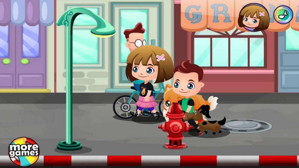 Puppy Car Wash Games