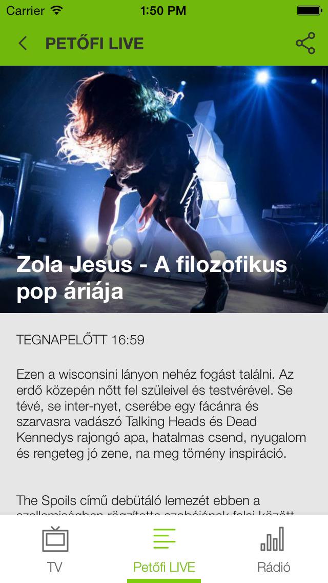 Petőfi LIVE