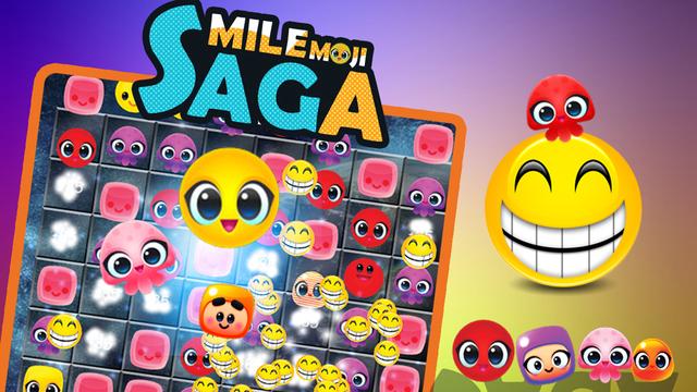 Smile emoji saga
