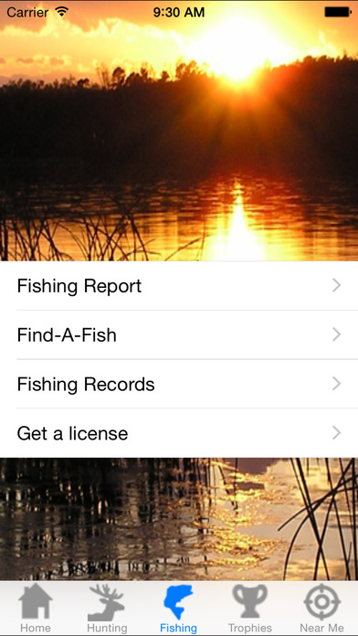 Arkansas Game and Fish Commission iPhone Screenshot 2