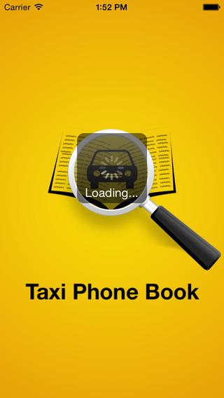 Taxi Phone Book