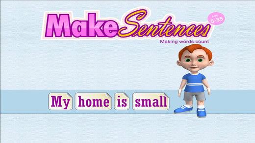 Make Sentences - Age 5-35.