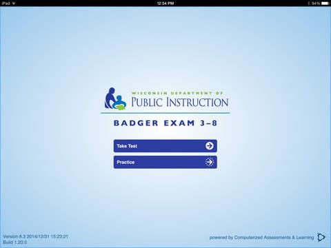 WDPI Badger Exam Secure Browser