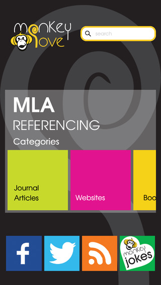 Monkey Love MLA Referencing Guide