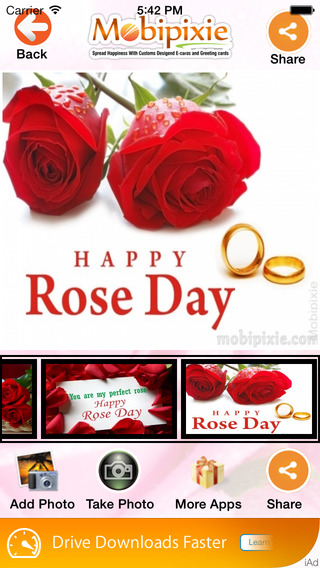 Rose Day eCards Greetings