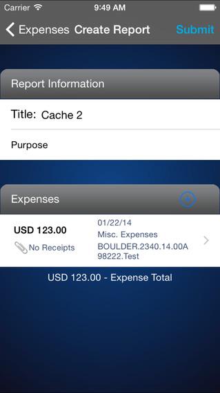 IQNavigator Timecards iPhone Screenshot 3