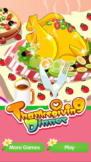 Thanksgiving Dinner - Cooking Decoration Girls Games