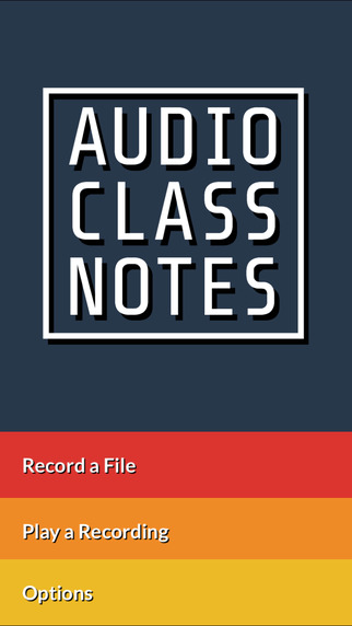 Audio Class Notes - Record Share and Tag School Lectures
