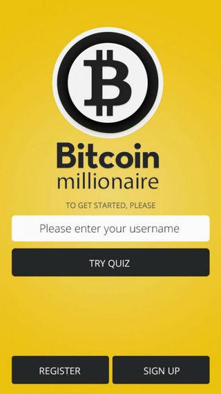 מסך Bitcoinmillionaire