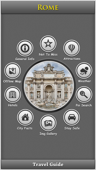 Rome Offline Map City Guide