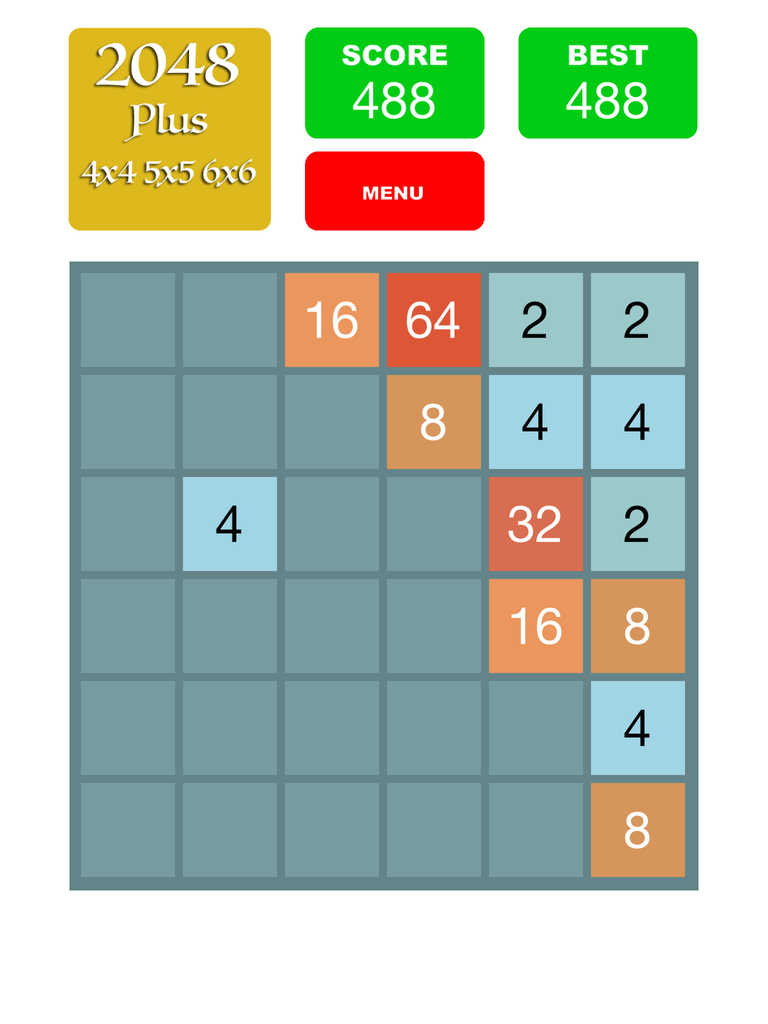 App Shopper 2048 Plus 4x4 5x5 6x6 Games