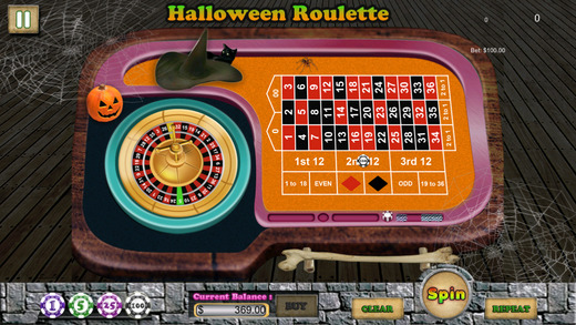 Free Halloween Roulette - Vegas Style