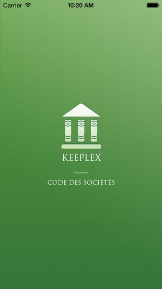 KEEPLEX - Code des Sociétés