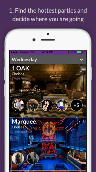 PartyHost - Meet Party Hosts for VIP Entry and Complimentary Bottle Service at hot Nightclubs
