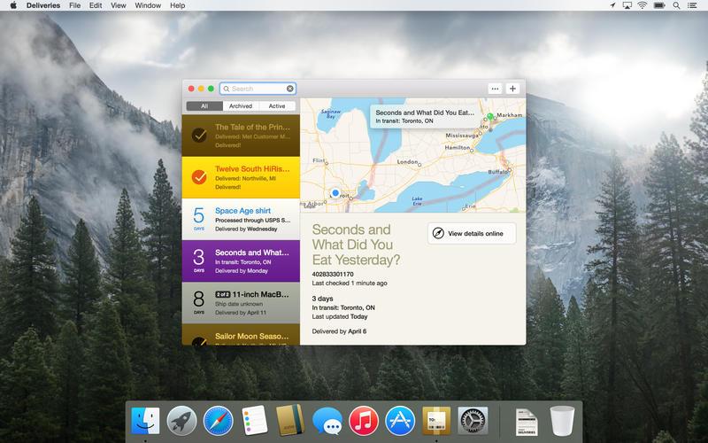 Deliveries Screenshot - 3
