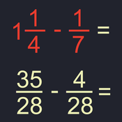 分数数学 – Fraction Math [iOS]