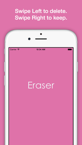 Eraser - Easily Remove Photos From Camera Roll