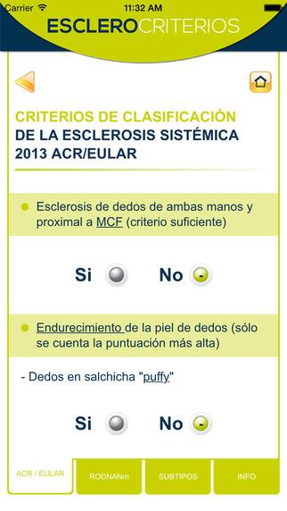 Esclero-Clasificación