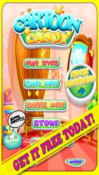 A Addictive Cartoon Candy Match Mania