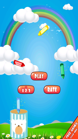 Crayon Collector Invasion – Fast Falling Game for Kids Paid