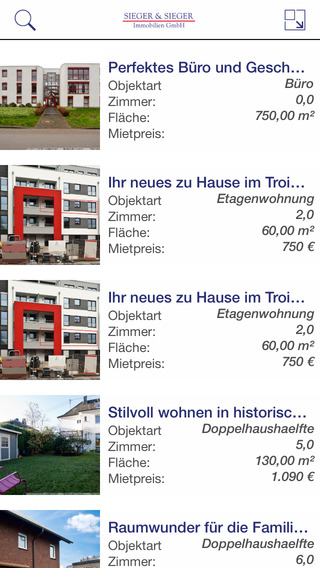 Immobilienverkauf Troisdorf - Wohnungen und Häuser präsentiert von Sieger Sieger Immobilien GmbH